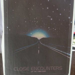 Vintage Close Encounters of the Third Kind Iron-On